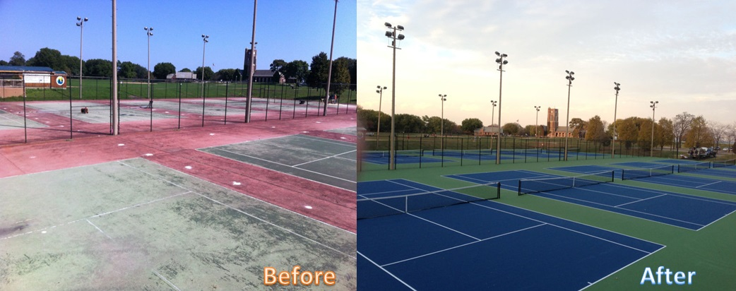 TENNIS COURTS MAINTENANCE