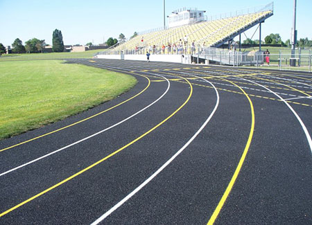 Athletic  Track Construction