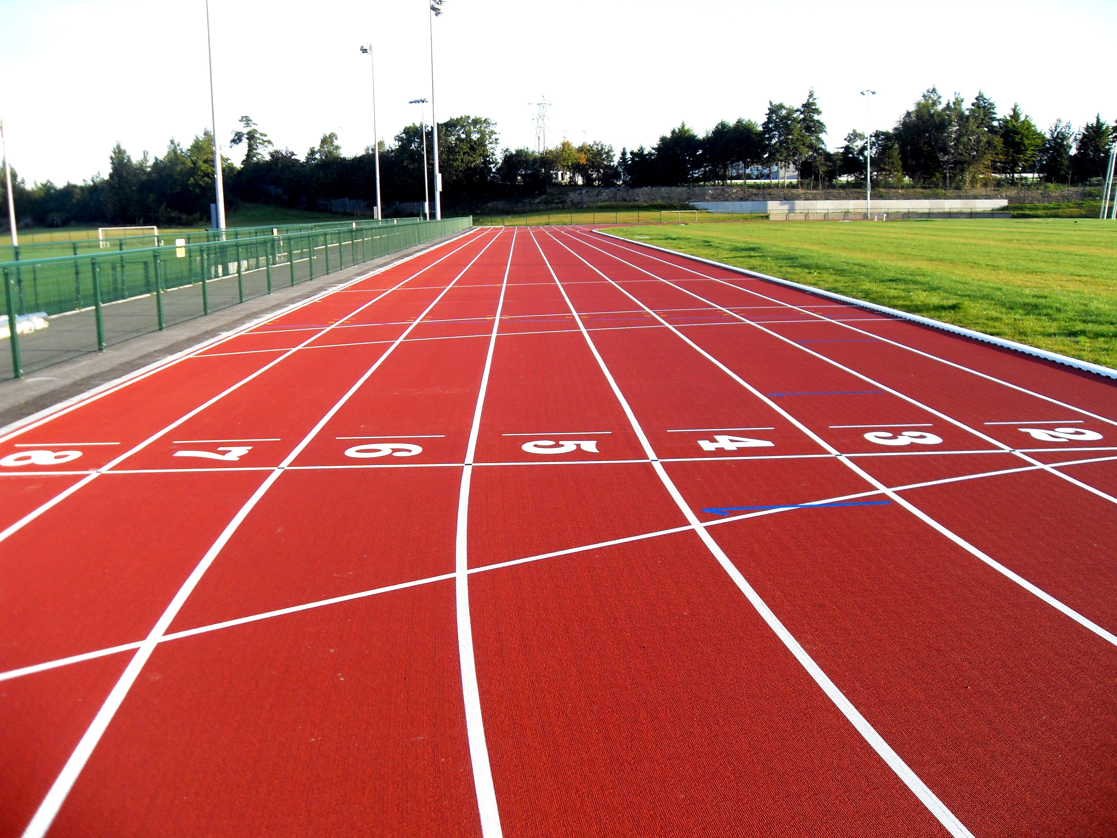 athletic tracks midrand