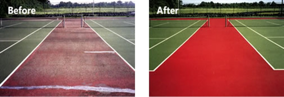 tennis courts resurfacing1
