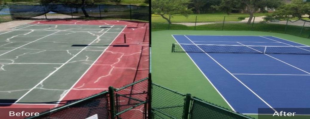 tennis courts resurfacing5